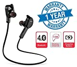 #6: Twogood H-850 jogger Bluetooth 4.1 Wireless Headphones Earphone Headset, Great for Gym, Running Jogging, Sports With built in HD Mic Suitable for MI A1, Redmi Note 4, Moto G5s and ALL Smartphones (1 Year Warranty, Assorted Colour)
