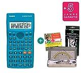 Casio FX-82SX Plus + Geometrie-Set + Lern-CD (auf Deutsch) + Erweiterte Garantie