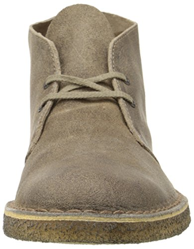 Men's de la marque Clarks Desert Boot Marron - Taupe/suède
