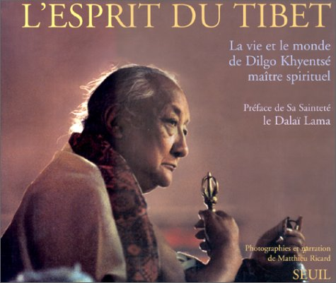 L'esprit du Tibet : La vie et le monde de Dilgo Khyentsé, maître spirituel... par Matthieu Ricard