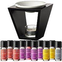 Duftöl Set mit Duftlampe - Wunderbare Welt der Düfte No. 1 - 10x feiner Raumduft - Aromaöl für Duftlampe und Diffuser... preisvergleich bei billige-tabletten.eu