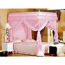 Vier Eckpost Bett Baldachin Vorhang Moskitonetz Schlafzimmer Kinderzimmer  Zimmer Prinzessin Stil Netting Bettwäsche Nette Dekoration ( Ideas