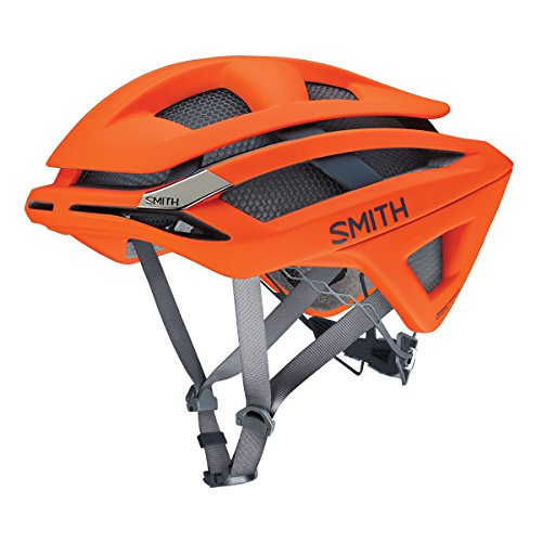 Smith Rennrad Helm Overtake Matte Neon Orange L