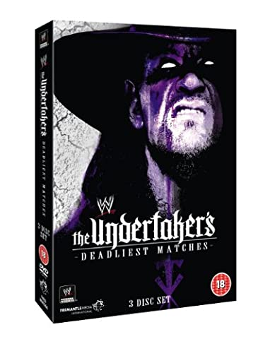 Wwe - Undertakers Deadliest Matches (3 Dvd) [Edizione: Regno Unito] [Import anglais]