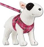 Komfortables Hundegeschirr Scottish Pink XXS-M, Größe:XS