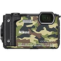 Nikon Coolpix W300 Digital Camera Camouflage (16 MP, 5x Optical Zoom/7.6 cm (3 Zoll) LCD Display, 4 K UHD Video, bildstabilisiert)