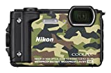 Nikon Coolpix W300 Digital Camera Camouflage (16 MP, 5x Optical Zoom/7.6 cm (3 Zoll) LCD Display, 4 K UHD Video, bildstabilisiert)