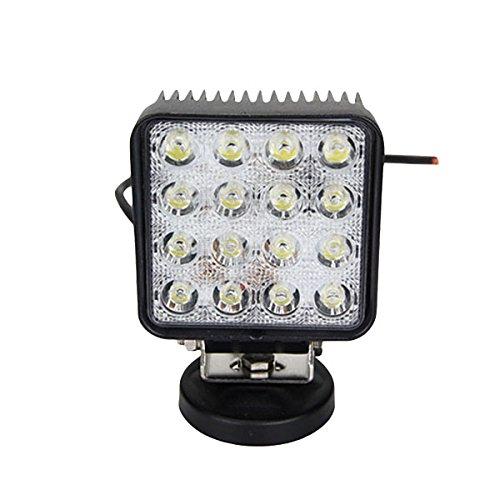 Outdoor-kondensator (Kung Fu Mall 48 Watt 3120lm 6000 Karat LED Arbeitsscheinwerfer Kondensator Dach Lichter Für Fahrzeug SUV Lkw Boot Outdoor OVOVS)