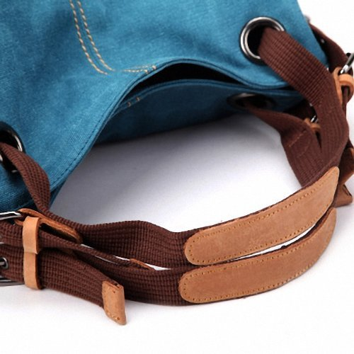 WITERY Borsa a spalla, Royal Blue (blu) - CA17-2-B Royal Blue