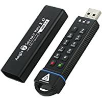 Apricorn Aegis Secure Key 3,0 120GB USB 3,0 Nero unità flash USB-Memory stick USB 3,0 (Dispositivo Usb Mass Storage Device)