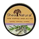 100% manteca de karité batida, lavanda Romero, 6.3 oz (178 g) - Shea Natural