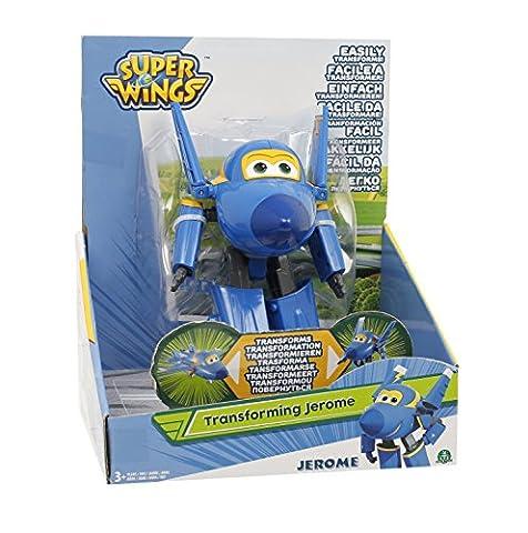Giochi Preziosi–Super Wings Figurine Transformable articulé, 12cm Jerome