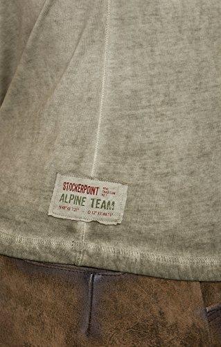 Stockerpoint Trachten T-Shirt Pascal Sand, L - 3