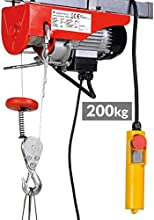Timbertech - Cebrestante de cable eléctrico - carga máxima de 200 kg - 230 V