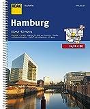 ADAC Stadtatlas Hamburg mit Lübeck, Lüneburg 1:20 000 (ADAC Stadtatlanten 1:20.000) - ADAC Kartografie