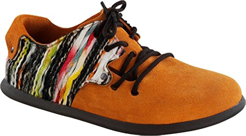Birkenstock Schuhe ''Montana'' aus echt Leder in Orange 42.0 EU S