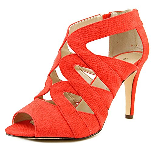 Style & Co Uliana Damen Faux Wildleder Sandale Bright Coral