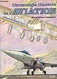 CHRONOLOGIE ILLUSTREE DE L'AVIATION DES ORIGINES A NOS JOURS. Edition 1987