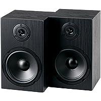 """McGrey BSS-265 6,5"""" HiFi haut-parleurs d'étagère 40 Watt noir"""