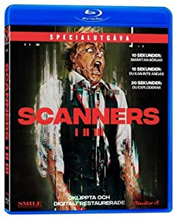SCANNERS TRILOGY [Blu-ray] New Release - Restored and Uncut - Special Edition (David Cronenberg)