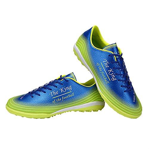 Ben Sports Tf Chaussures de Football Compétition Homme Enfant,33-44 vert