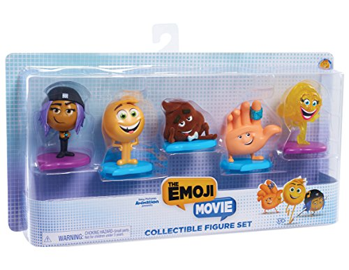 Just Play Emoji Movie Collectible Figures Set
