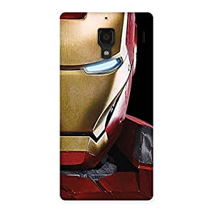Delighted Genius Print Back Case Cover for Redmi 1S