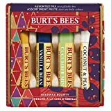 Burt's Bees Bienenwachs Bounty 4 Stück Geschenkset - 100% natürlicher Bienenwachs Lippenbalsam mit Vitamin E und Pfefferminz, 108 g