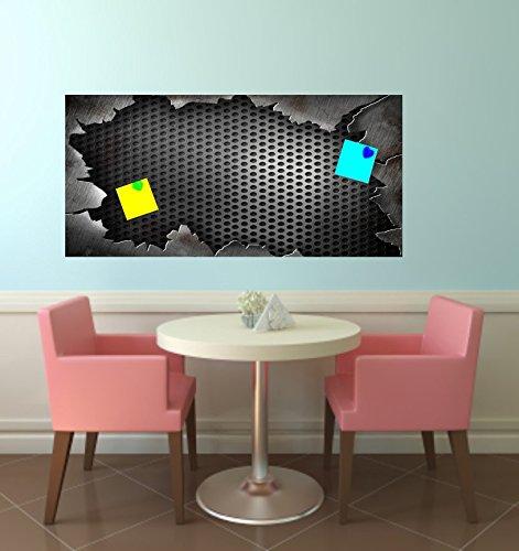 Magnettafel Aufkleber Lochblech passend für IKEA Spontan