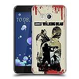 Head Case Designs Offizielle AMC The Walking Dead Voller Daryl Silhouetten Ruckseite Hülle für HTC U11/Dual