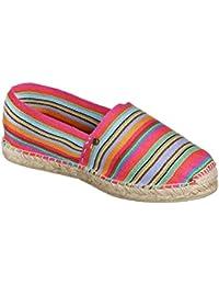 JOE N JOYCE Bilbao Unisex Espadrilles Handgefertigte Luxus Schuhe Blau Größe 43 07LqbQ7yi