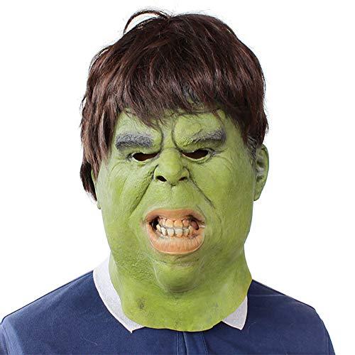 Story of life Halloween Kostüm Latex Funny Mask, Dress Up Mask Hulk Karneval Für Erwachsene Themenpartys