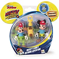 Mickey Mouse Disney Aventura Al Aire Libre, Pack 2 Mickey y Goofy IMC Toys 181878