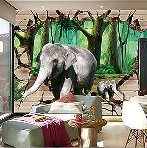 Wxlsl 3d Wallpaper Custom Large Muralsstereo Beyond The Wall Of The