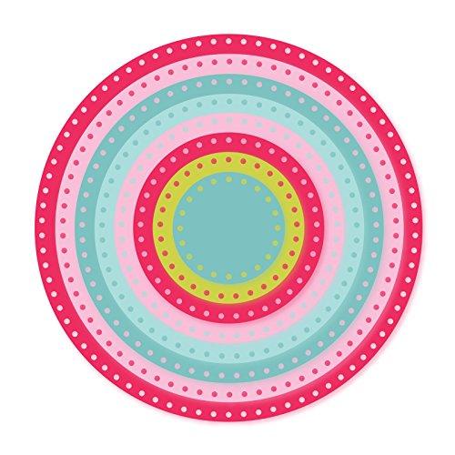 Sizzix 661560Framelits Set, Kreise, von Stephanie Barnard (8er Pack), -