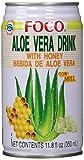 Foco Aloe Vera Getränk mit Honig, 24er Pack (24 x 350 ml)