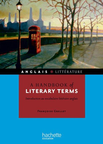 A handbook of literary terms - Introduction au vocabulaire littraire anglais