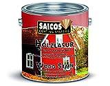 Saicos 501 0038 Holzlasur, Mahagoni, 2,5 Liter