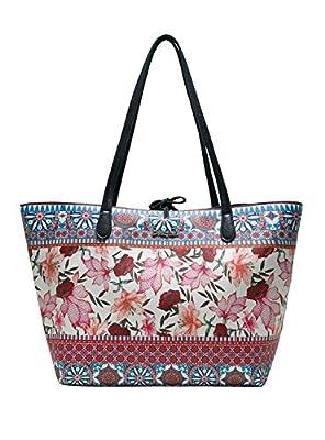 Desigual Bols Capri, Shoppers y bolsos de hombro para Mujer, 28x13x30 cm (B x H x T) de DESIGUAL