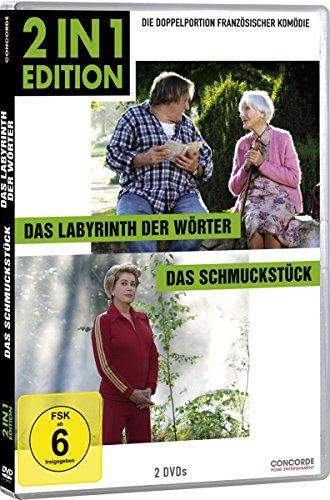Bild von Das Labyrinth der Wörter/Das Schmuckstück (2 in 1 Edition) [2 DVDs]