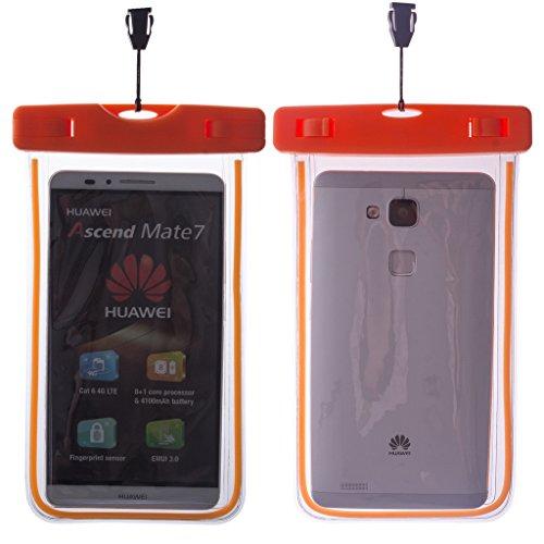ZeWoo Sac Etanche Smartphone En Moins De Portable De 5.7 Pouces Universelle - Compatible avec Apple iPhone 3gs / 4 / 4S / 5 / 5S / 5C / 6 / 6 Plus / iPod Touch 4(3.5 Pouces) / Touch 5(4 Pouces) - Hous 01006