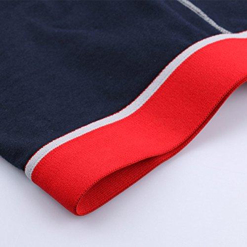 ZHXUANXUAN Uomo Cotone Slip Extra Large Riassunto Del Pugile Ultra Fast Dry (2-pack) White