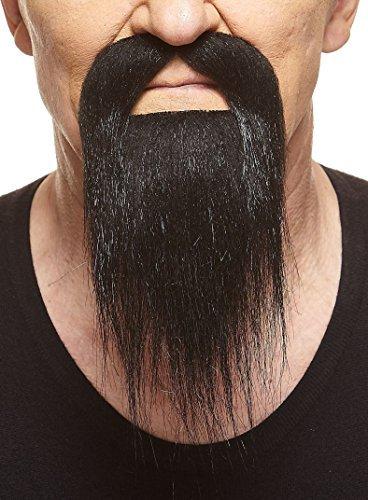 Schwarzer Ducktailr fälschen, selbstklebend Bart