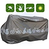 Waterproof Bicycle Cover Vintage Mountain Electric Bike Mope Storage WBK1B