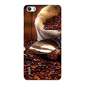 Impressive Coffee Beans Brown Back Case Cover for Honor 6
