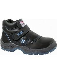 Panter 414101700, Calzado de Seguridad, Negro, 43 EU