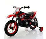 Baybee Kawasaki Super Racing Battery Operated Ride On Bike with Air wheels Headlights with 25 Kg Weight Capacity ( Red )