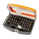 Triton TPTA59338219 Set Punte ad Impatto per Cacciavite 31 Pezzi, 0 V, Arancione