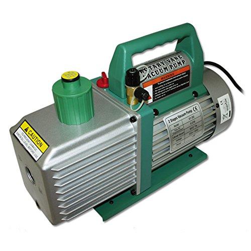 Cfm Pumpe (Unterdruckpumpe Pumpe 2 stufig 224 L 8 cfm 0,3 Pa)