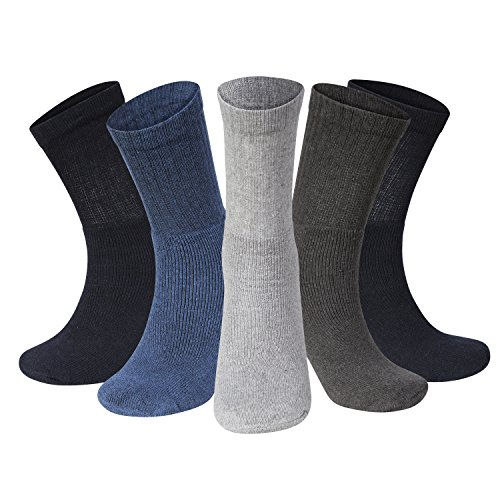 Kensington® PRO-SERIES COOL ULTRALITE CREW SPORT SOCKS For Athletic, Gym, Running, Tennis, Fitness, Training, Cycling, Football, Cricket, Rugby, Triathlon, Men (Assorted)